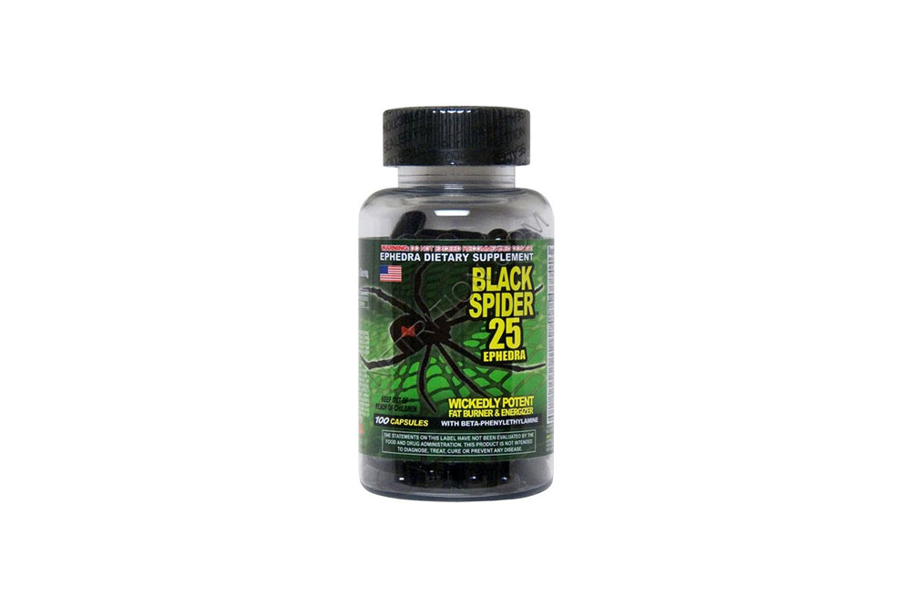 Black Spider the fast acting fat burner