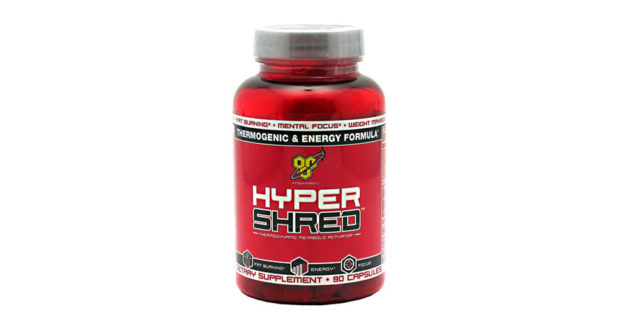 BSN Hyper Shred is a weight loss supplement for the active person