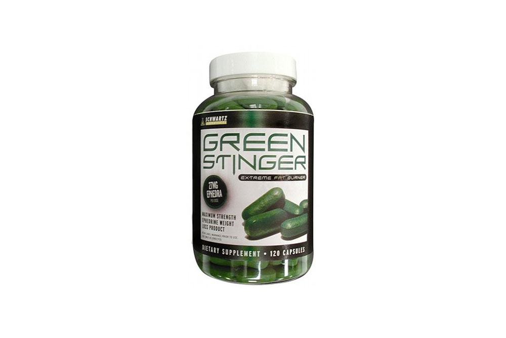 Green Stinger by Schwarz Labs is a pill that was created for weight loss and increased energy