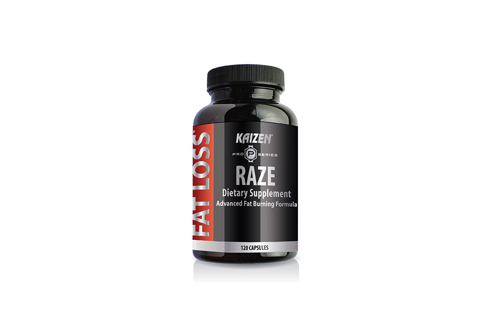 Kaizen Raze claims to burn fat