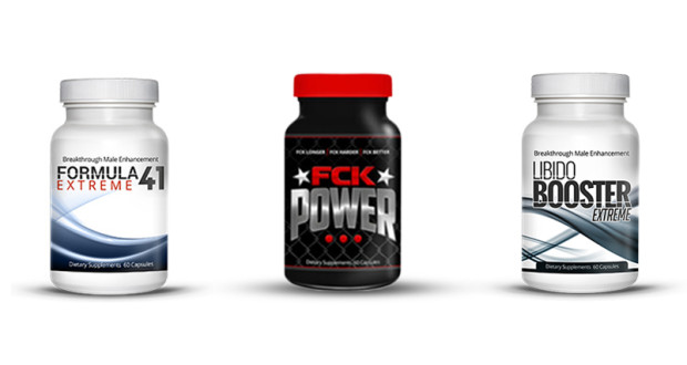 Male Enhancement Products Fck-Power, Libido-Booster-Extreme, Formula41-Extreme