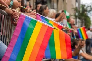 gay pride, rainbow flag, LGBTQ march