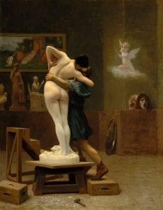 Galatea and Pygmalion