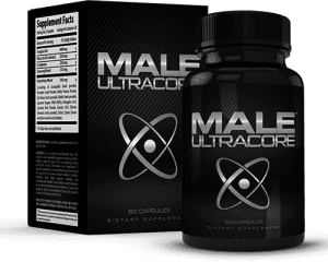 Male UltraCore USAhealthymen Bottle and Box