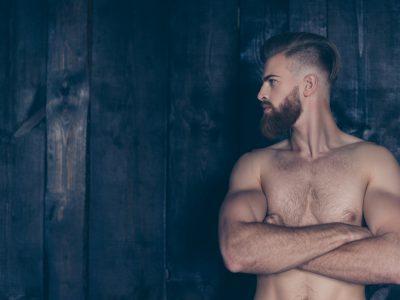 healthy male body