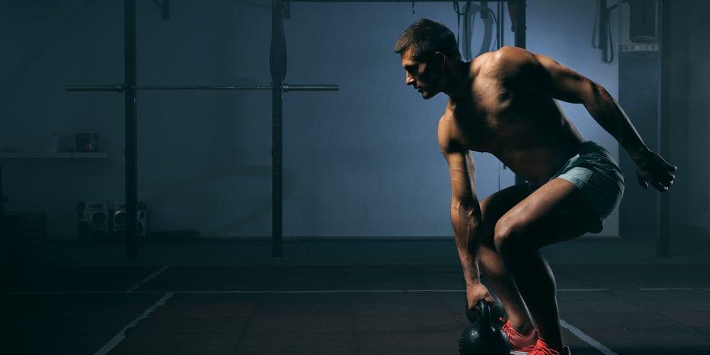 intense gym workout