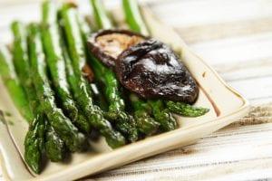 asparagus with mushroom