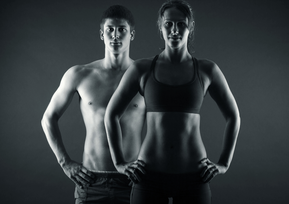 healthy and fit couple