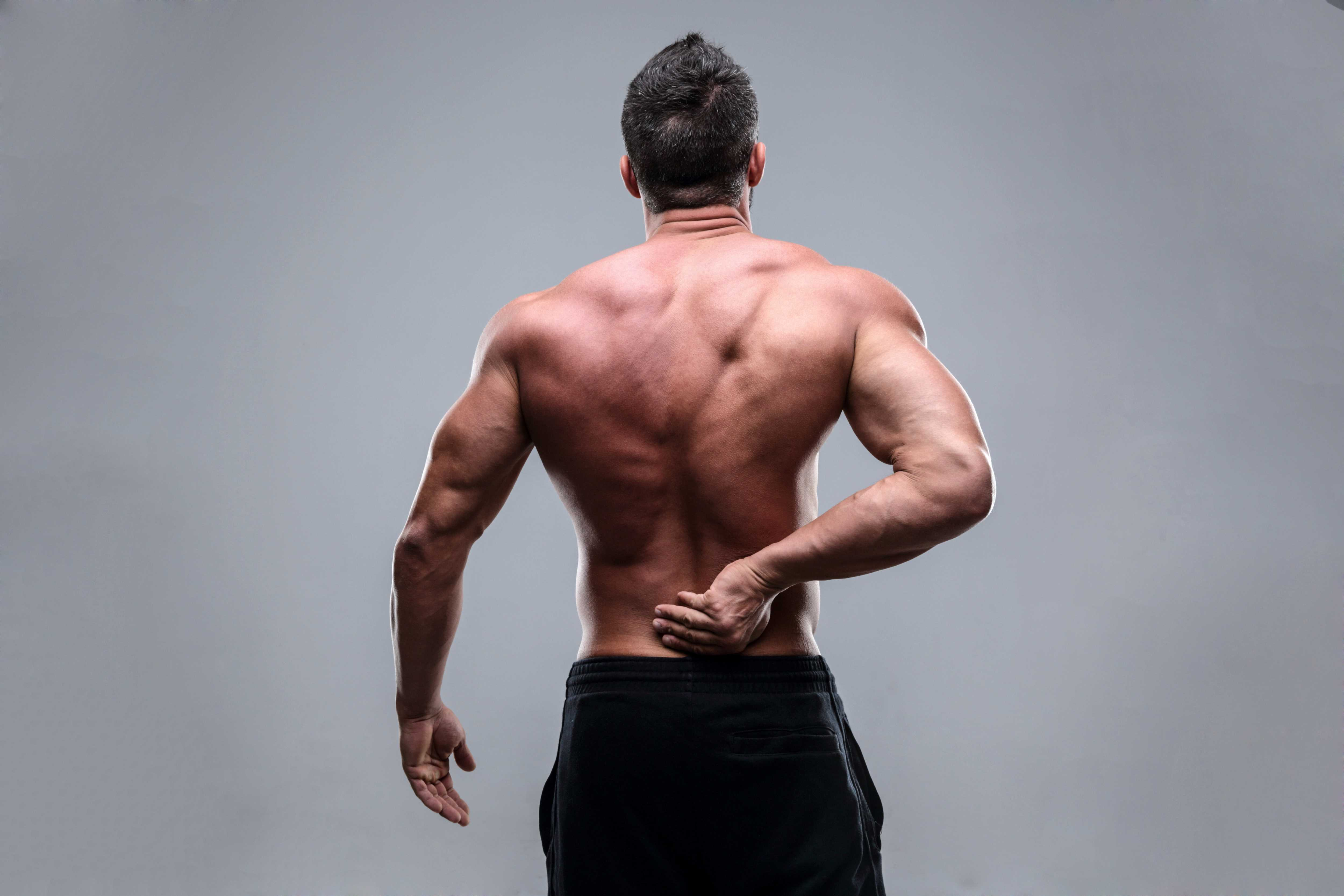 muscle man lower back pain