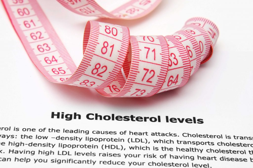 high cholesterol levels
