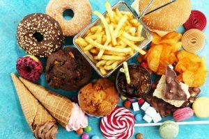 fatty sugary foods