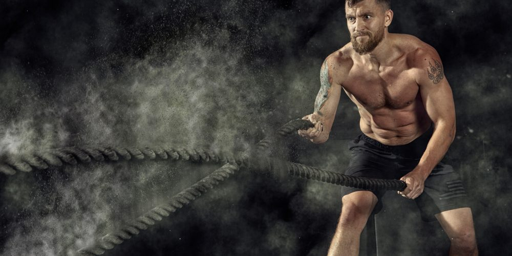 battle ropes hiit